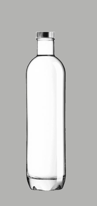 Bouteille verre réutilisable 75cL